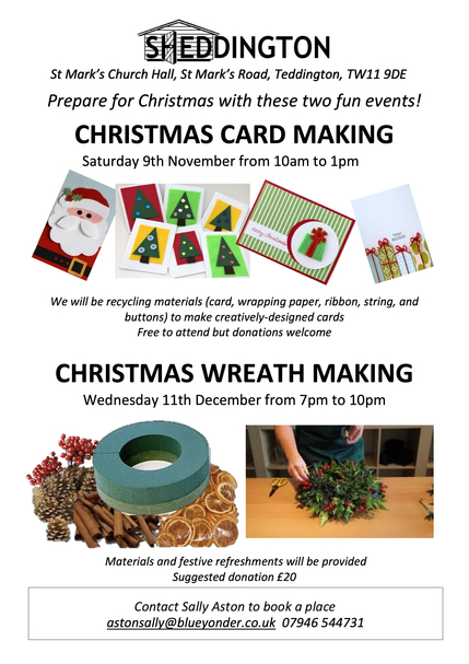 Christmas Crafts Flyer